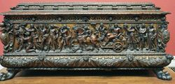 Italian, Triumph of Bacchus, Marriage Chest, Detroit