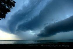 Shelf Cloud Over Lake Erie