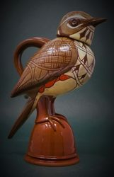 "Redwing Jug 9"" tall"