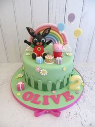 Olive's 2nd Birthday Cake