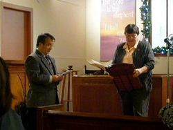 Rev Mas Iwasawa and Janet Boley