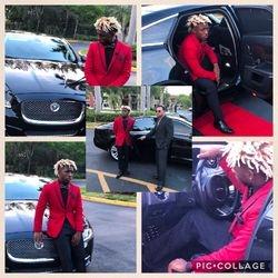 Slim Fit Red Suit