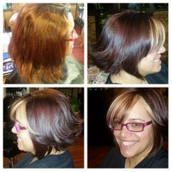 Color and cut makeover