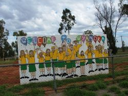 Mural at the School Ground