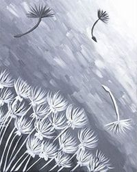 """Wind Swept Dandelion"""