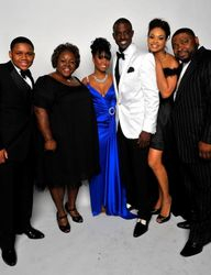 The Cast Of House Of Payne Attended The 40th NAACP Awards.