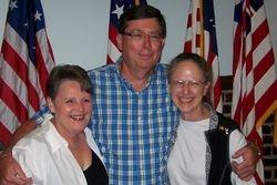 Deb White, Gary Scrutchfield and Stephanie Maxwell McAdam
