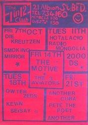 1988-10-07 1in12 Club, Bradford, England