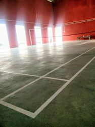 Indoor badminton Hall