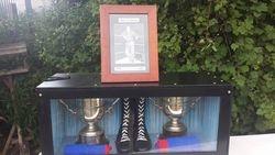 Mick McManus memorabilia on display