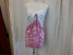 Tie dyed beach dress