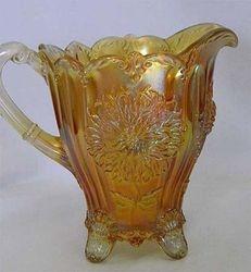Dahlia pitcher, marigold