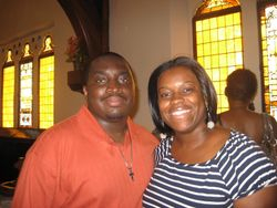 Charlotte and Jamell Robinson