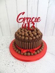 Gracie's 13th Birthday Cake