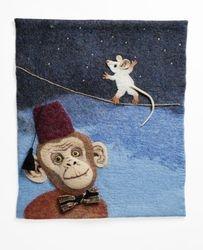 Apina ja hiiri, Monkey and mouse