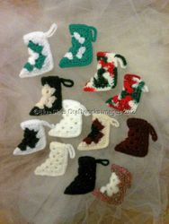 Dozen Christmas Ornaments - Set 6