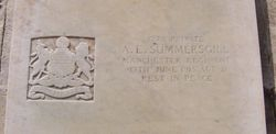 Pte.1278 A.E. SUMMERSGILL. 1st 9th Battalion.