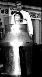 Early Milk Churn Escape