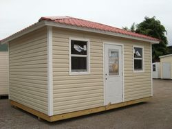 12x16 with hipp roof