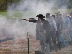 The Great Jesse James Frontier Revolver Shoot Out