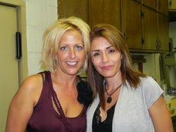 Jen C & Janice