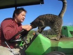 John & Tabby Cat
