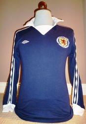 Scotland match worn football shirt 1977 for sale