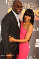 Roger Bobb and Demetria McKinney attends An Evening of Stars at Atlanta Civic Center
