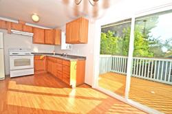 Kitchen facing SE
