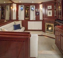 Main Saloon Starboard settee