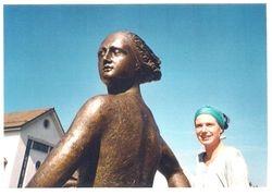 Zentaurin, Bronze, öffentliche Arbeit