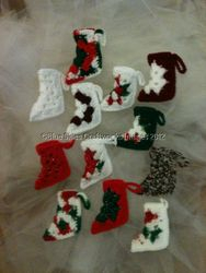 Dozen Christmas Ornaments - Set 2