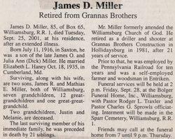 Miller, James D. 2001