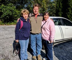 From left to right: Diana Mooney, Jeff Mooney, and Debbie Mooney.