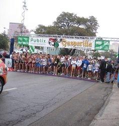 Start of Gasparilla Distance Classic 5k