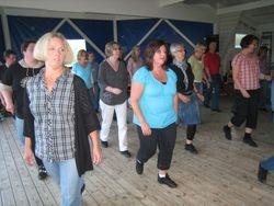 Sommardansen den 17 juni var det 33 dansare på golvet.