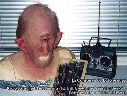 """Cyclops"" radio-controlled animatronics for Prosthetic"