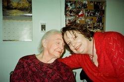Mom & Marj Christmas Day 2010