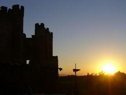 El Castillo al atardecer...