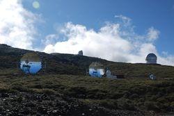 The observatories on La Palma