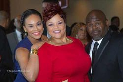 "Demetria McKinney, Tamela Mann & David Mann at the ""21st Annual Trumpet Awards"""