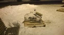 Ice Dump Truck