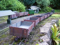 Open wagons and boxcab shunting