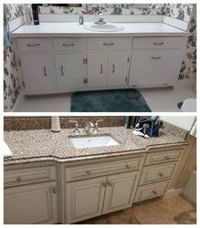 custom built vanity