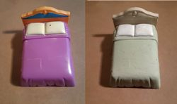 Plastic bed