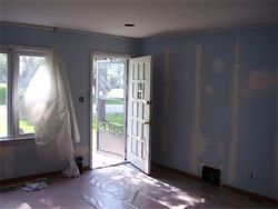 paint and floor, before pic