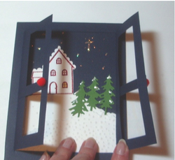 Winter Scene Card By Martha