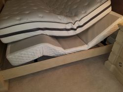 adjustable twin XL bed frames (2)