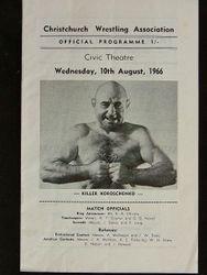 Killer Koroschenko Wrestling Programme
