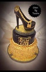 classy lady cake